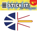Stick It! - Newfoundland Flag