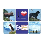 Coasters - Set of 6 asst - NL images