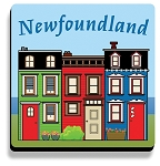 Coaster Set - Downhome Rowhouse - Set of 4 - 4