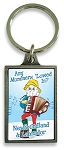 Key Chain - Pewter - Downhome Mummers