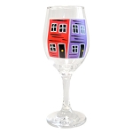 Hand Painted - Wine Glass - Assorted Colours