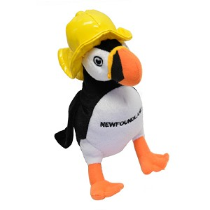 Plush - Puffin with Sou' Wester - 9""